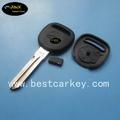Calidad superior de chevrolet clave, del coche del transpondedor clave en blanco, clave de shell, clave de la cubierta, clave de caso