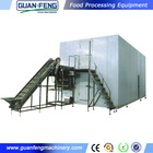 IQF frozen chicken / industrial flash freezer / industrial freezer price
