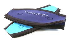 Neopren mask strap cover slap strap, custom neoprene scuba mask strap pad cover