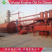 pioneer technology motor oil distillation to diesel machine
