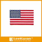 American flag small embroidery patch