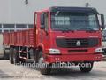 45t 6x4 caminhão howo sinotruk caminhão de carga da china em exposição