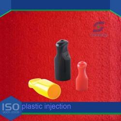 custom round plastic tube inserts/ product of plastic/ nylon end caps