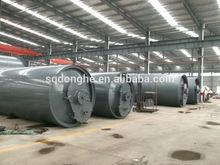 waste rubber prolysis machine WJ-9 waste tire pyrolysis machine waste rubber recycling equipment