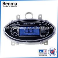 LCD meter bike blue display,e-bike meter, LCD display meter,LCD display meter for e-scooter