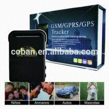 worlds smallest TK102B GPS tracker for car, child,elderly, dog, cat, pets, asset