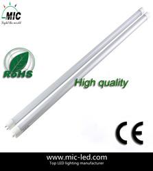 MIC new high quality high brightness good price led tube daylight color t8 75ra