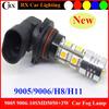 Less than 1% defective rate 9005 9006 h1 h3 h4 h7 h8 h11 5050SMD 880 881 12v car led light