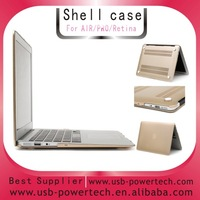 2014 golden Hard shell cover case for MACBOOK Pro 13.3""