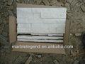 villa piso exterior y la decoración de la pared de color blanco puro de cuarcita pizarra piedras del patio