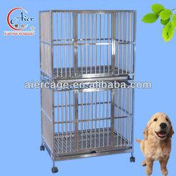 large steel indoor dog kennel