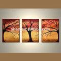 hecho a mano populares moderno abstracto pintura de árboles para la venta