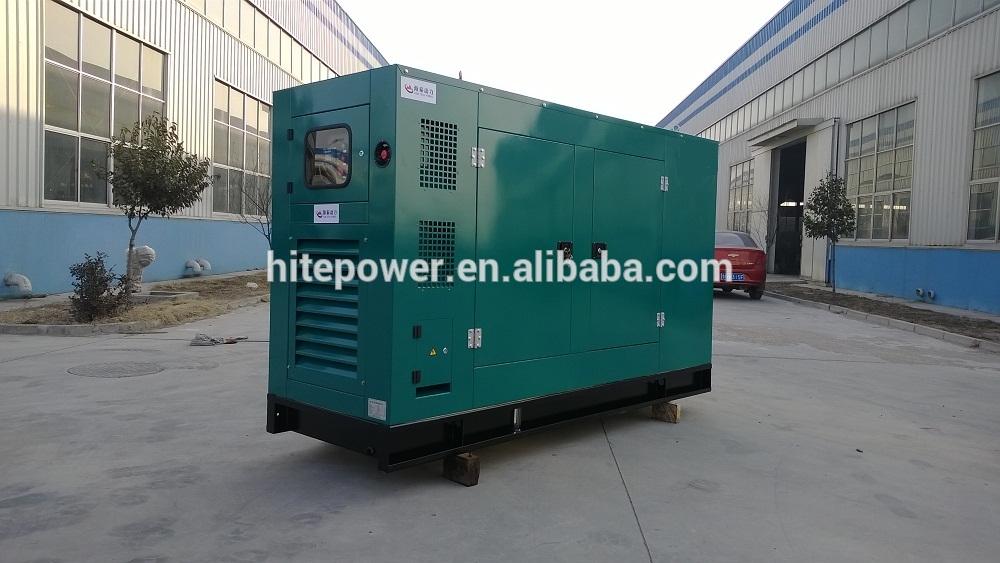 จีนขายส่งceและisoได้รับการอนุมัติ125kvaเครื่องกำเนิดไฟฟ้าเงียบ