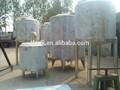 de acero inoxidable de almacenamiento del tanque de agua