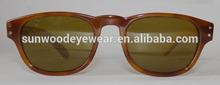 acetate wood sunglasses acetate frame