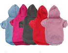 Pet dog cat clothes blank dog hoodies
