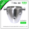 stainless steel standing wine bucket
