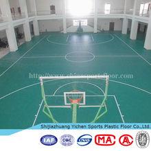 china vinyl flooring basketball hall