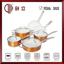 Aluminium hot sale cookware set