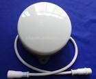 WS2821A LED pixel module,120mm diameter milky cover,DC24V input,24pcs 5050 RGB SMD LED inside