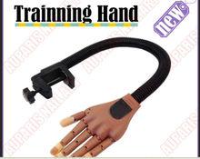 Hot !!!2014 Newest nail practice hand, 100pcs nail beds, PF-15