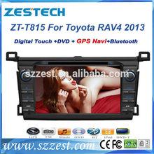 ZESTECH DVD wholesales 2 Din Touch screen Car dvd gps for toyota rav4 2013