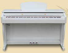 88 Key Touch Sensitive Hammer 88 key grand upright digital piano prices white color