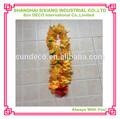popular corona Leis de flores de seda al estilo de Hawaii con tela de decoración