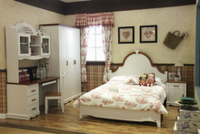 2014 new style American style children bedroom furniture 8A06