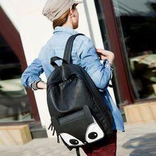 2014 New Double Back Fox Korean Leather Shoulder Bag