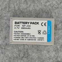 Factory Supply 820mAh Digital Camera Battery For Casio NP-20