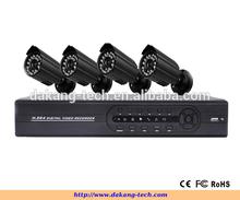 DAKANG CCTV kit 4CH Full 960H High Quality H.264 CCTV DVR Kit,iPhone&Android phone view