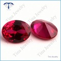 corte oval ruby vendidos preço por quilat