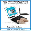 LBK115 New Tablet Wireless Bluetooth Keyboard with Stand Hard Case Cover for iPad 2 3 4