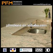 Chinese PFM Luxury hot sale granite smart design bathroom vanity for Kitchen & Bathroom design
