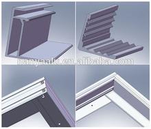 solar module/panel frame profile