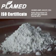 Super radix glycyrrhizae extract powder supplier,100% pure radix glycyrrhizae extract powder