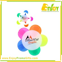 Promotional Funny Flower Shape Highlighter Pen