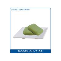 Cheap plastic bathtub shape soap dish holder