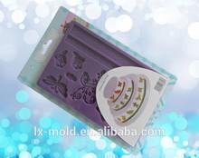 Libélula - bolo em forma de decoração ferramentas borboleta impresso molde de silicone