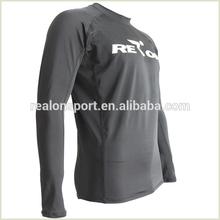 long sleeve lycra custom rash guards