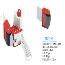 T15010-N New Red 2 Inch Tape Gun Dispenser Packing Packaging Cutter Convenient packing