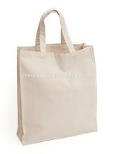 wholesale plain canvas tote bags/canvas wholesale tote bags/china blank canvas wholesale tote bags