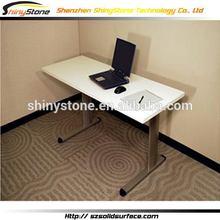Fantastic chain shop composite solid surface four office desk
