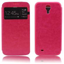 Small Moq Window Flip PU Leather Case For Samsung Galaxy S3 I930