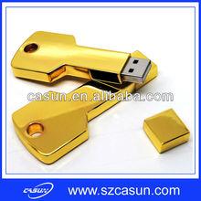 high quality gold key usb stick