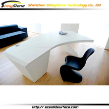 Elegant hotel project artificial marble name brand office furniture