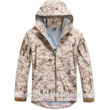 TOP Quality TAD GEAR SPECTRE HARDSHELL Jacket Outdoor Military Tactical Waterproof Windproof Sports Jackets Desert digital
