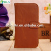 Vintage style leather cover case for iphone 5/5s with good quality low price