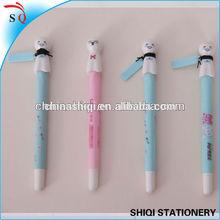 Customized logo print lovely sunny dolls student gel pen